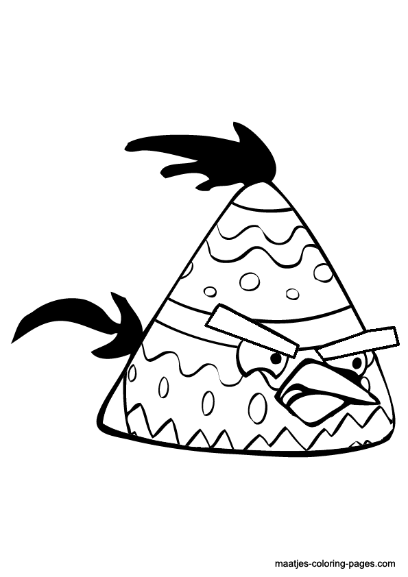 angry birds coloring pages easter - photo#16