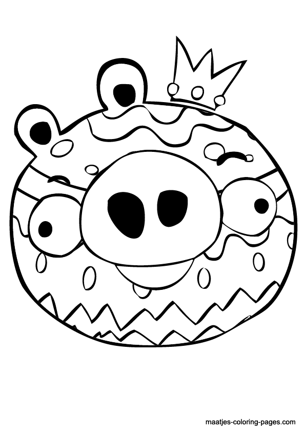 angry birds coloring pages easter - photo#19