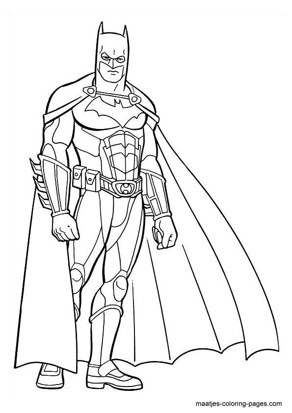 batman coloring pages dark knight - photo#10
