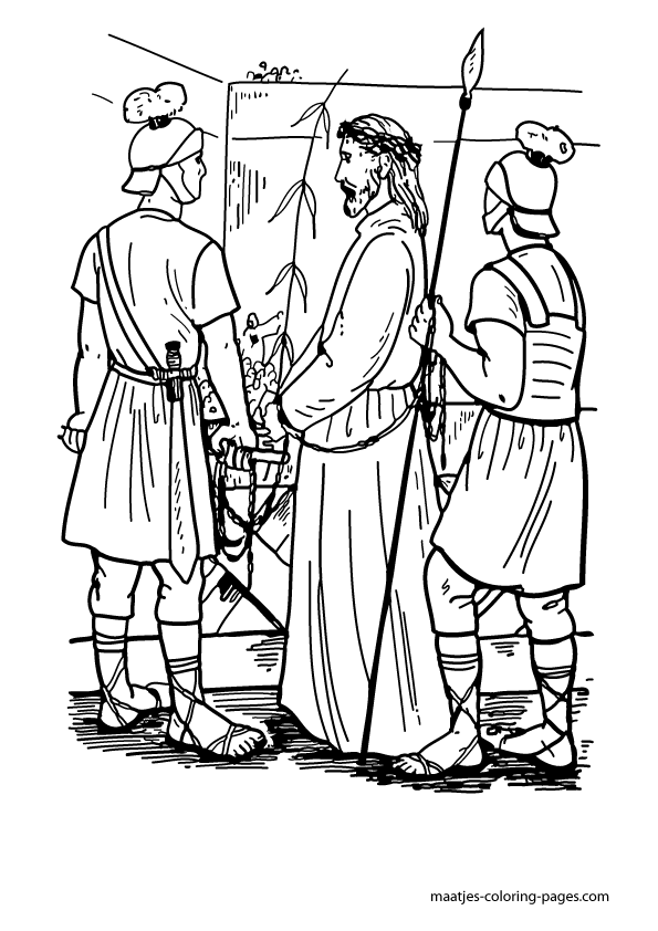 Biblical Easter Coloring Pages