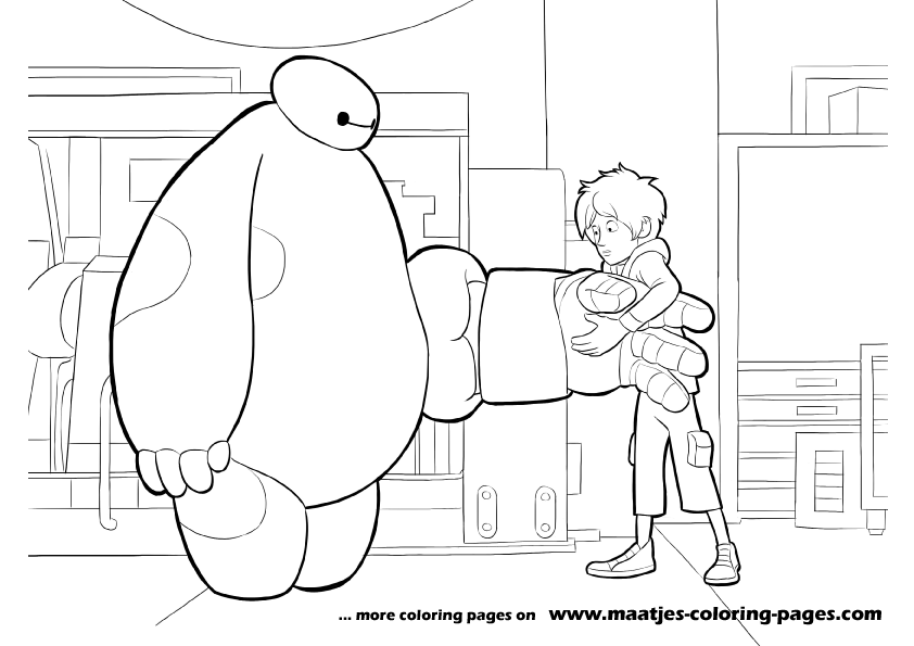 ba max coloring pages - photo #32