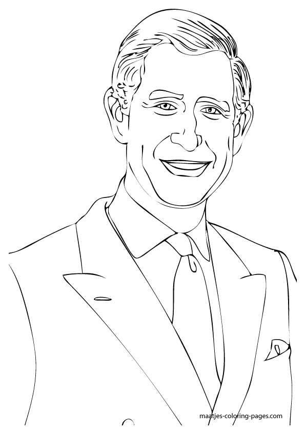 the royal family coloring pages - photo#4