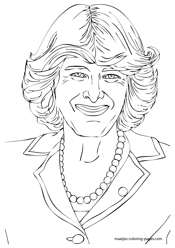 the royal family coloring pages - photo#15