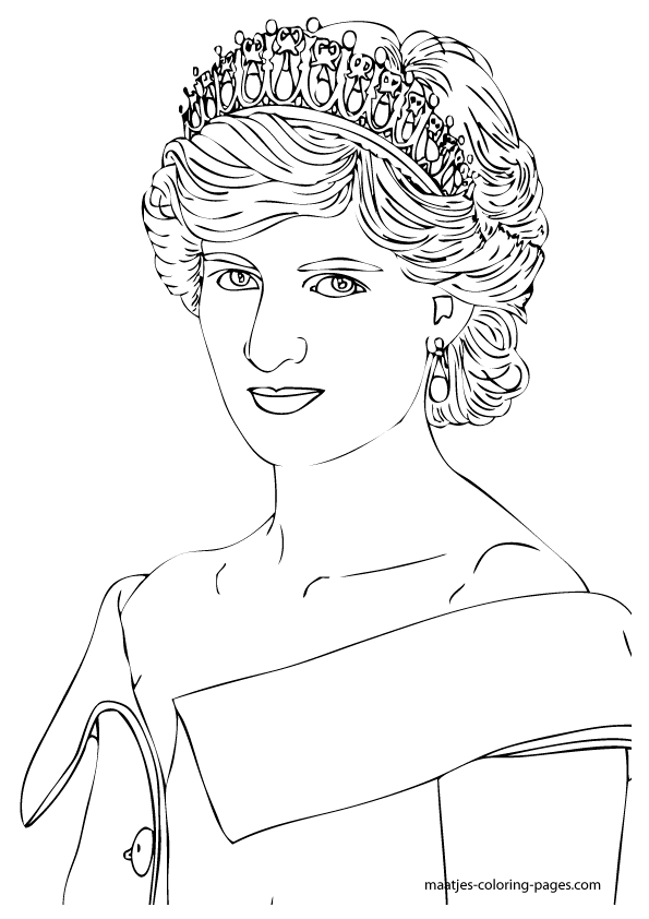 the royal family coloring pages - photo#2