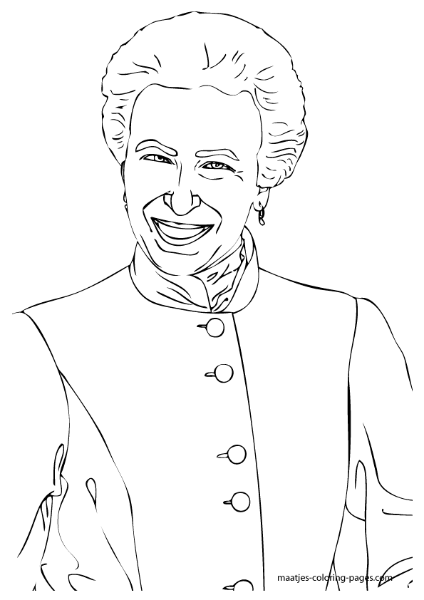the royal family coloring pages - photo#9