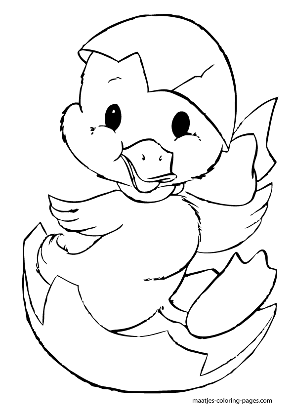 easter chick coloring pages hatching baby chicks easter coloring