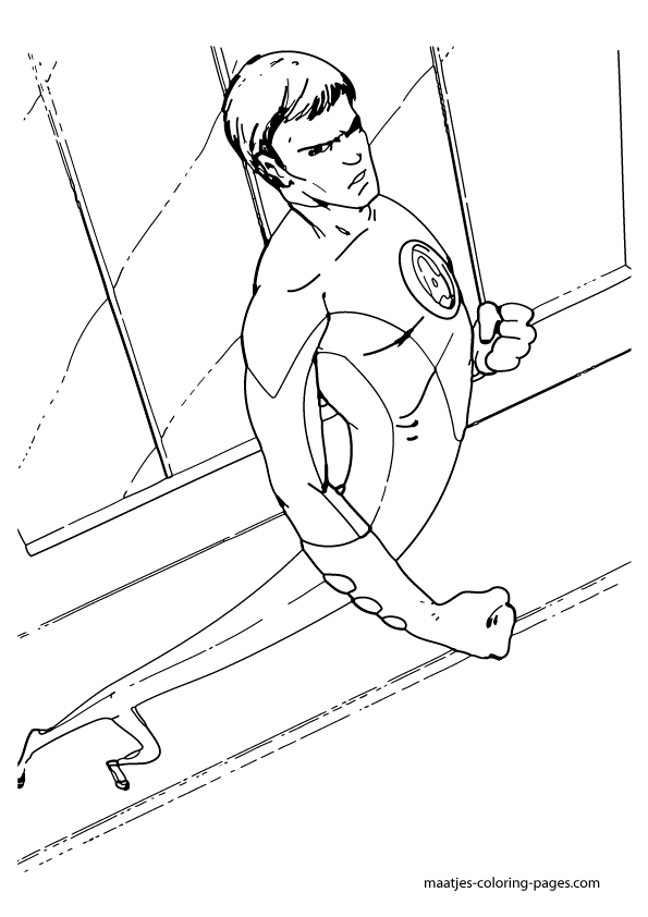 Fantastic four in new york coloring pages - Hellokids.com | 842x595
