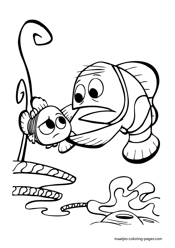 nemo turtle coloring pages - photo#12