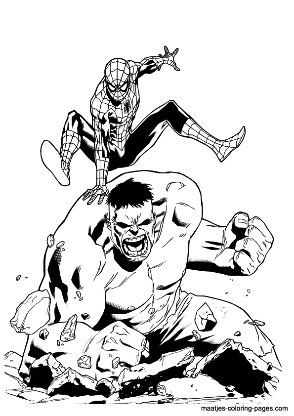 Hulk Vs Superman Coloring Pages Coloring Pages