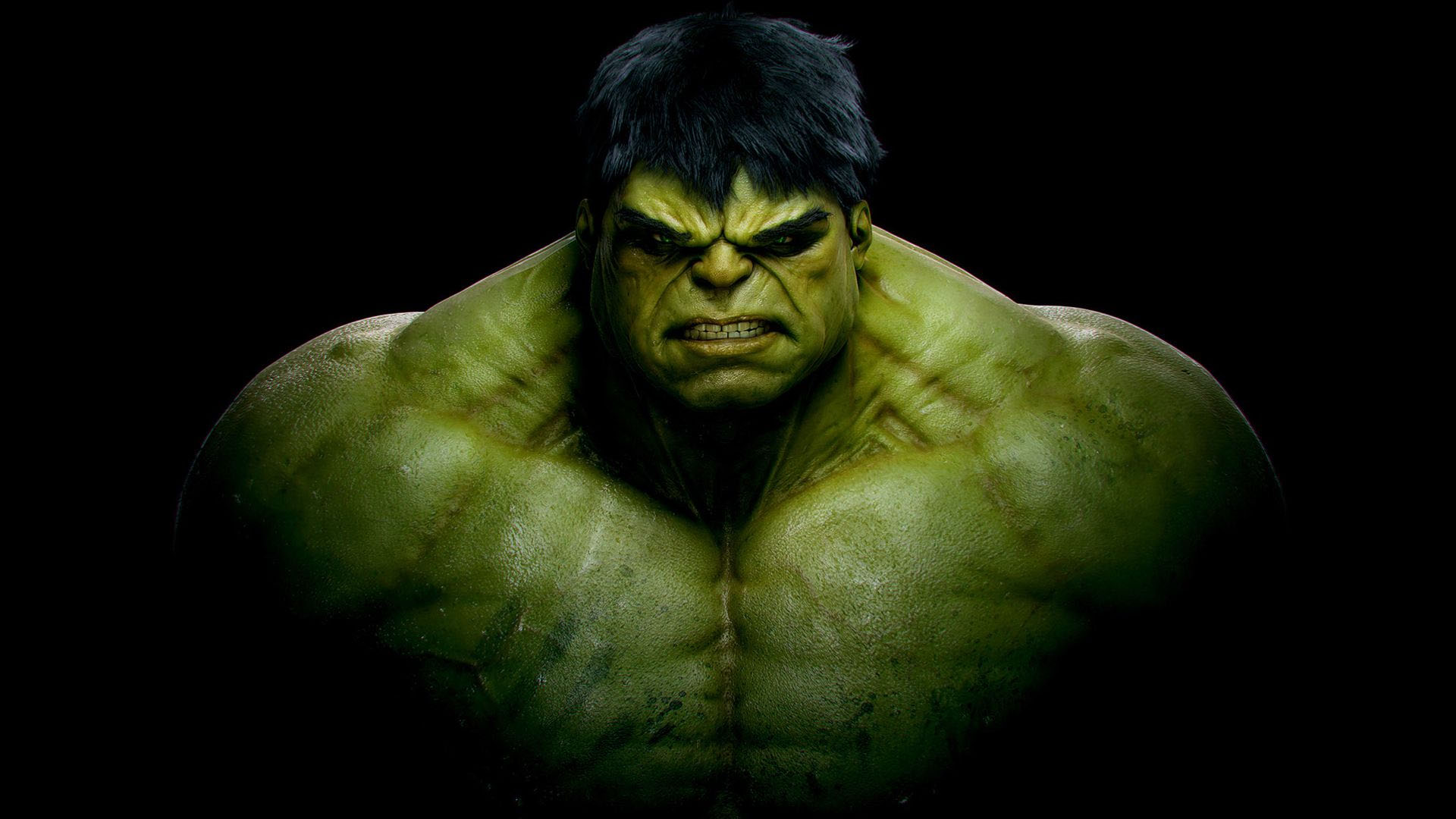Right click the HD 1920 x 1080 Hulk wallpaper image and choose Set as