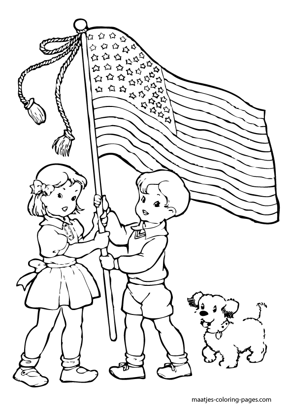 Mexican Independence Day Coloring Sheets Pages