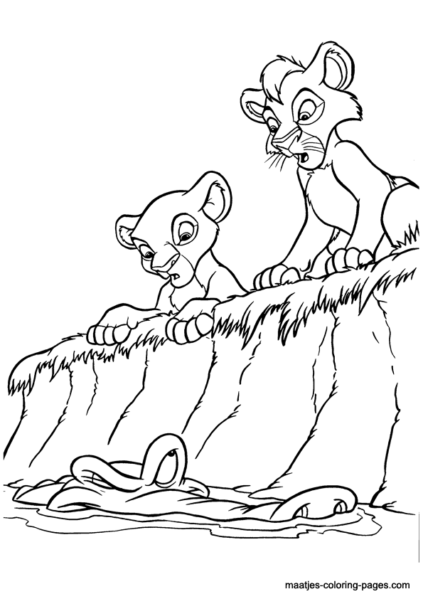 Lion King coloring page   842x595