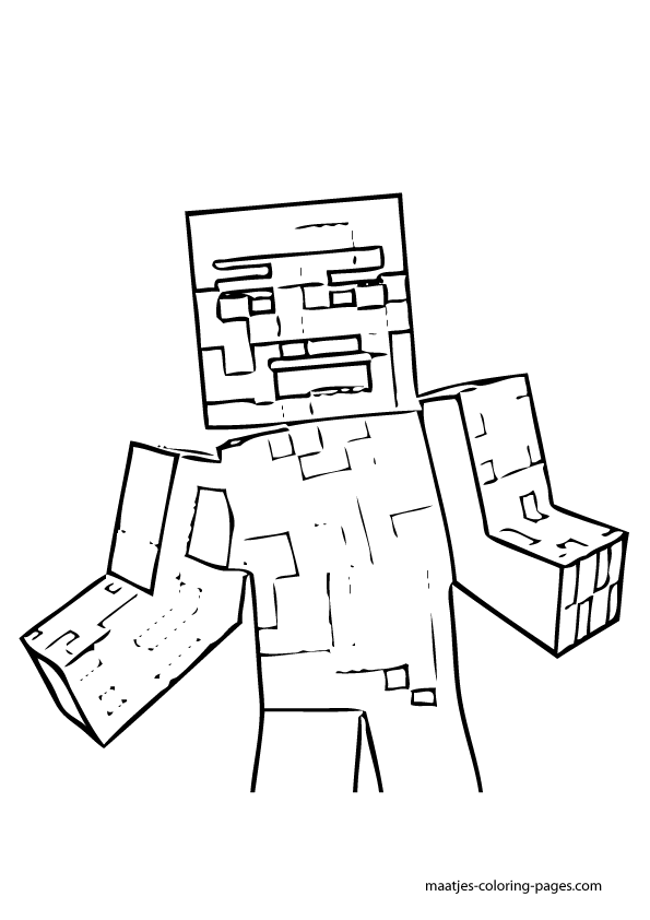 minecraft ocelot to coloring pages - photo#18