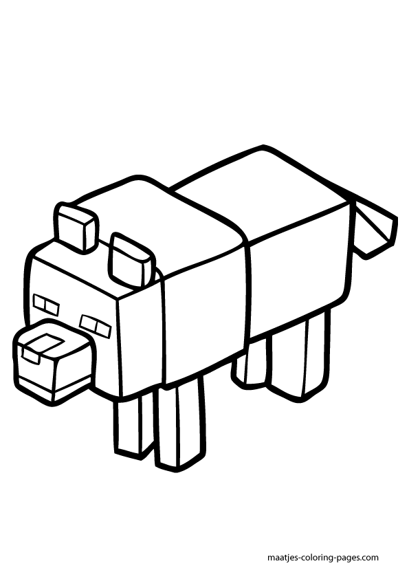 minecraft blocks coloring pages - photo#33