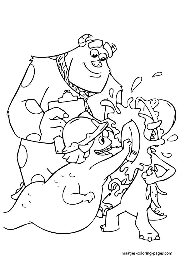 Roz coloring pages - Hellokids.com | 842x595