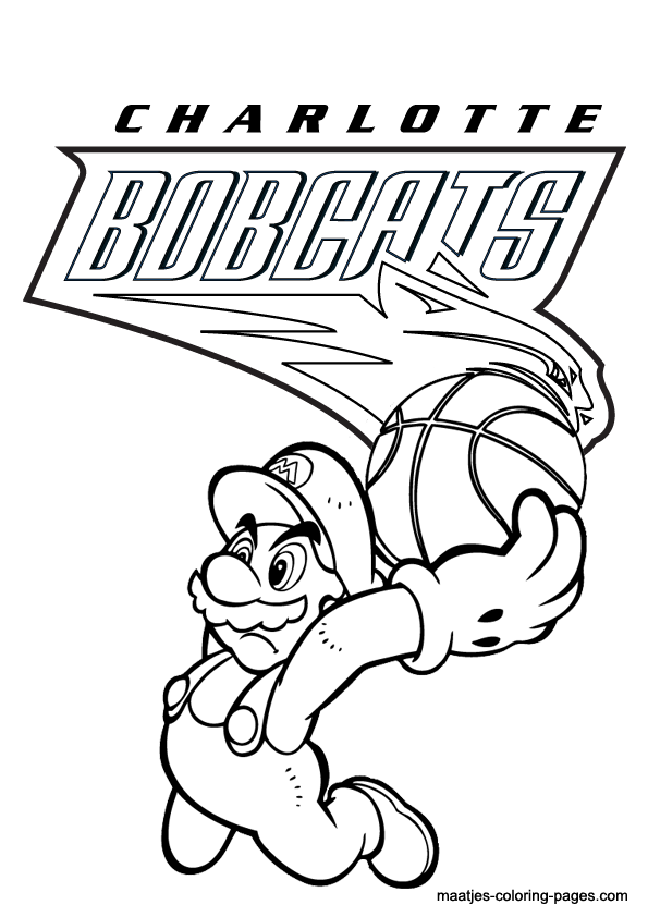 Charlotte Bobcats And Super Mario Nba