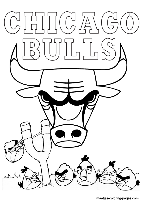 Pin Chicago Bulls Coloring Pages Index Of On Pinterest
