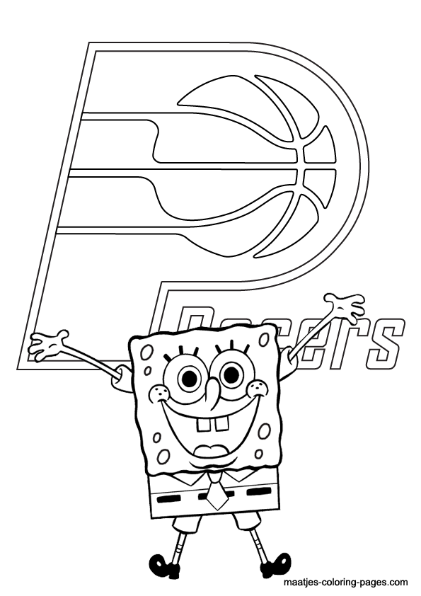 indiana pacers coloring pages indiana pacers free colouring pages