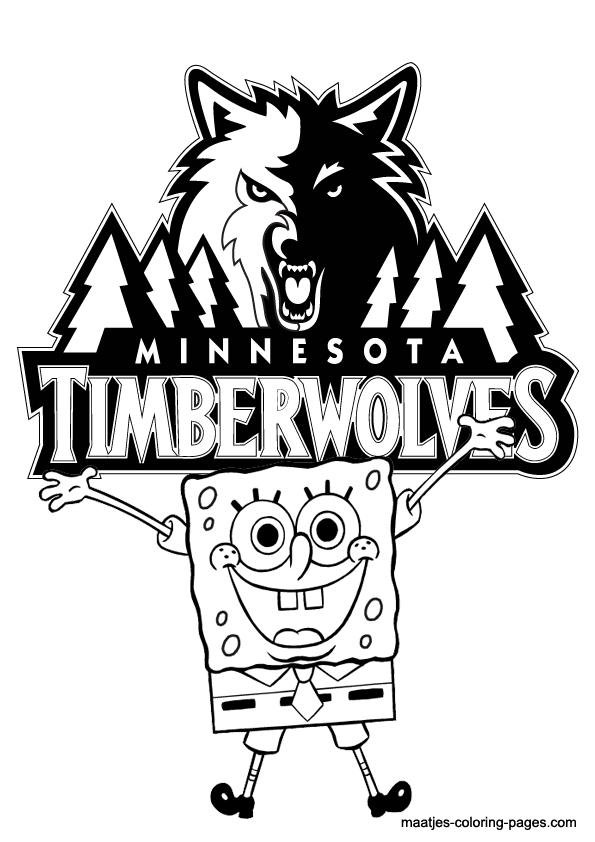 Minnesota Timberwolves and Spongebob
