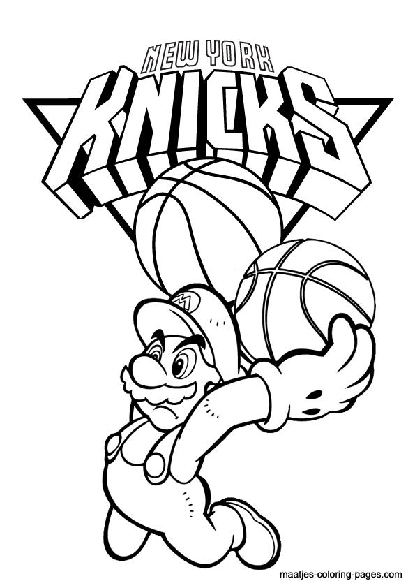 New York Knicks and Super Mario