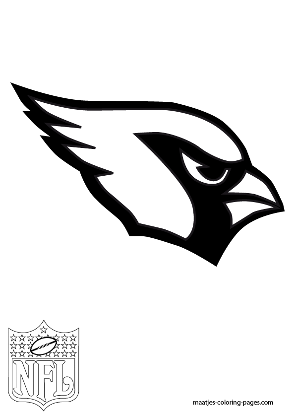 az cardinals coloring pages - photo #3