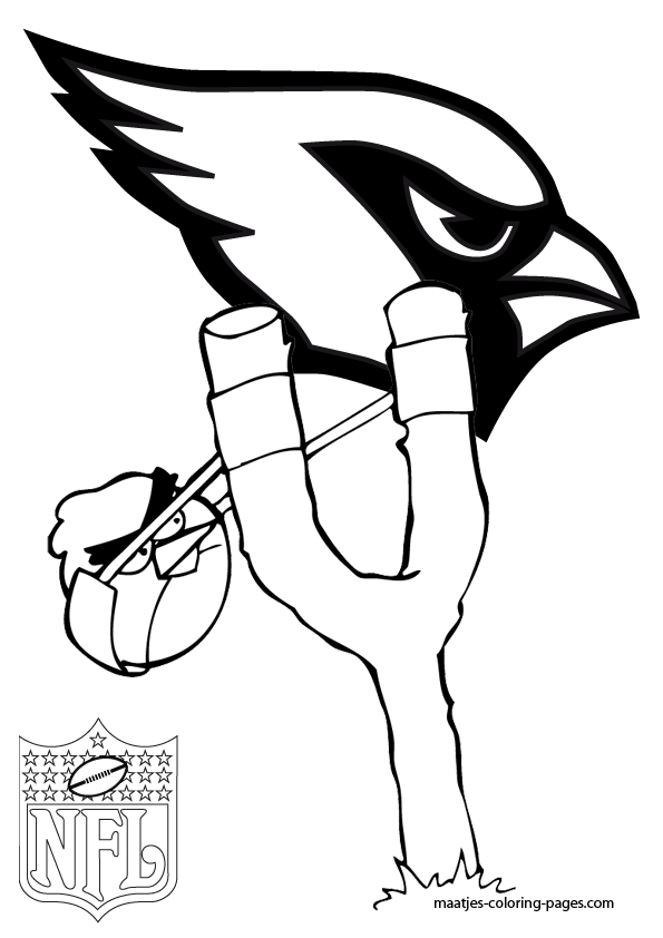 az cardinals coloring pages - photo #5