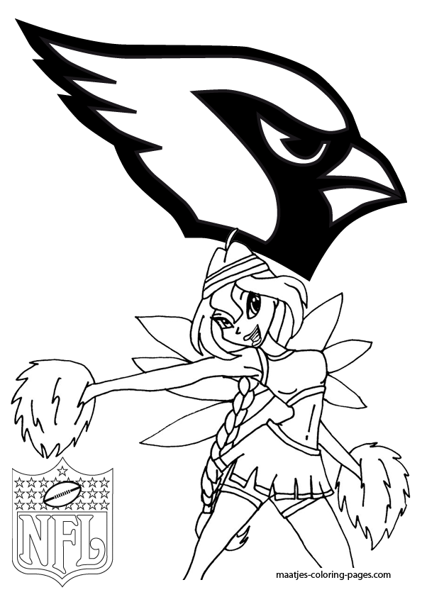 az cardinals coloring pages - photo #11