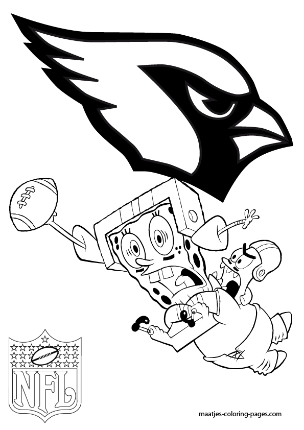 cardinals football coloring pages - photo#7