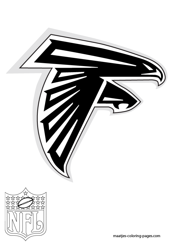 how to draw the falcons logo