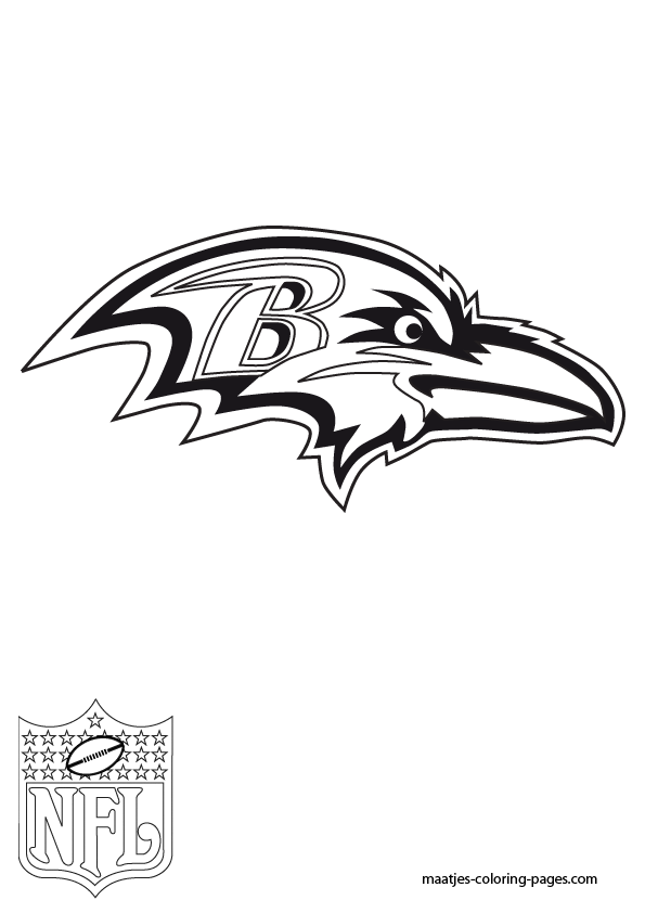 Nfl Logo Coloring Pages Football Nfl Coloring Pages Nfl Team Logos Coloring Pages