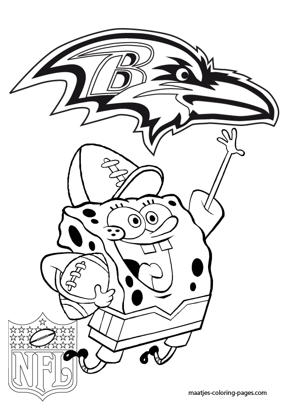 baltimore ravens coloring pages print reaven free colouring pages