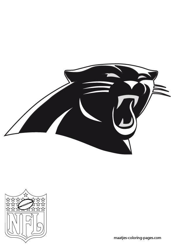 carolina panthers printable logo pictures to pin on pinterest pinsdaddy