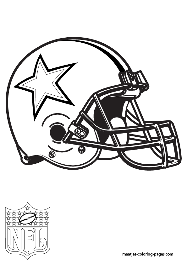 Dallas Cowboys Coloring Pages Dallas Cowboys Logo Coloring Page Printable