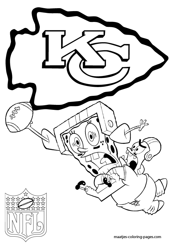 kc chiefs coloring pages - photo#13