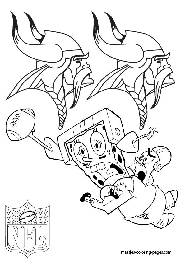 vikings football coloring pages - photo #11