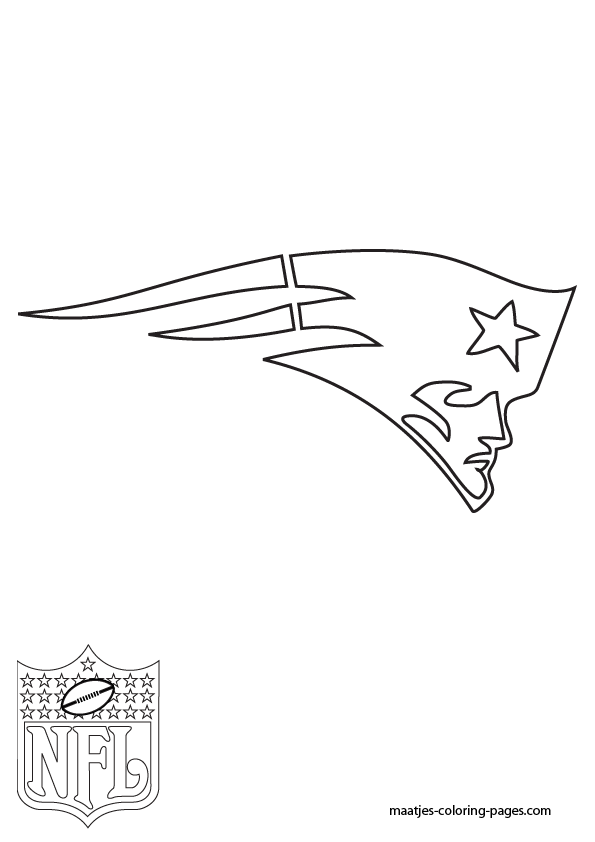 New England Patriots Coloring Sheets Pages
