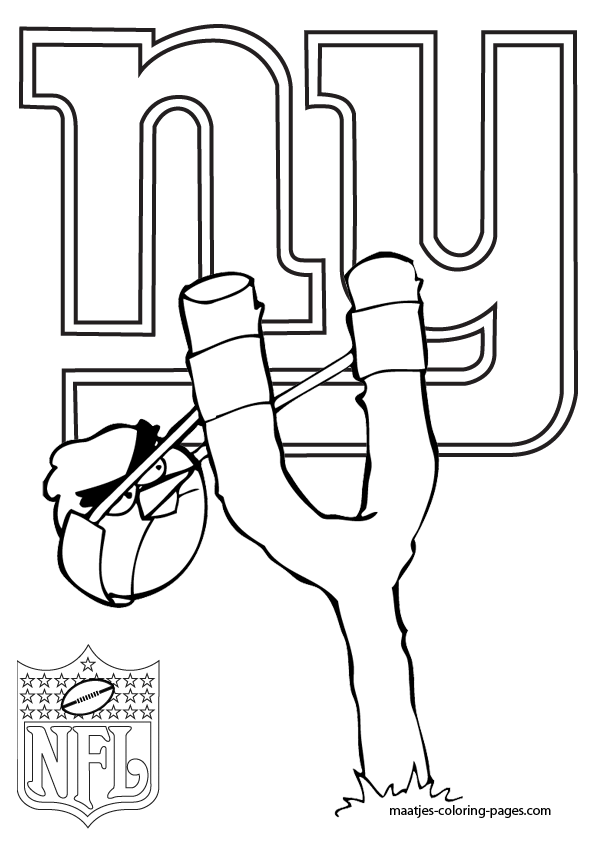 giants football coloring pages - photo#12