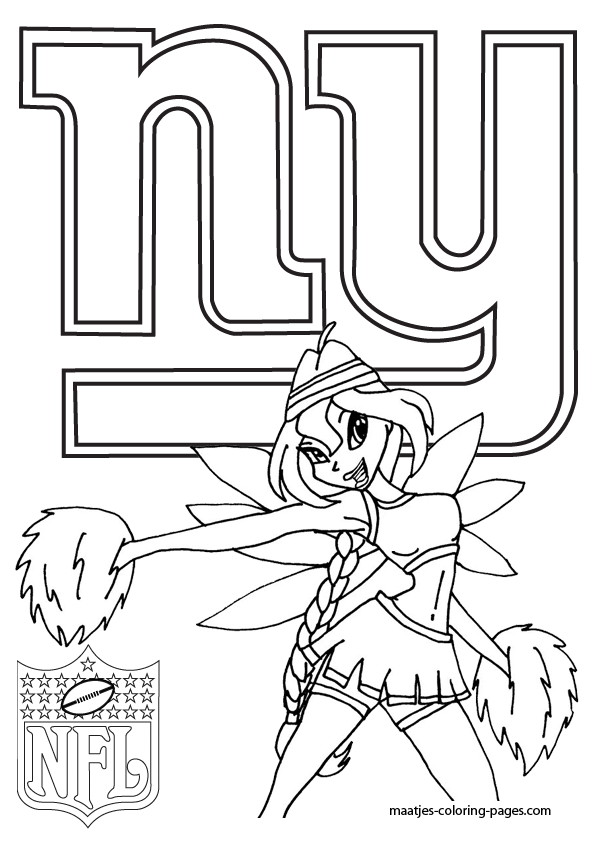 giants football coloring pages - photo#19