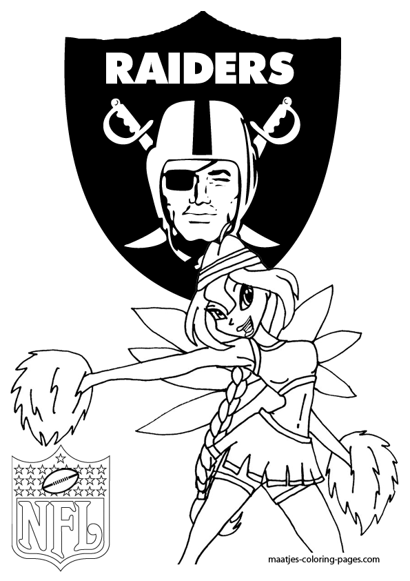 raiders coloring pages - photo#22