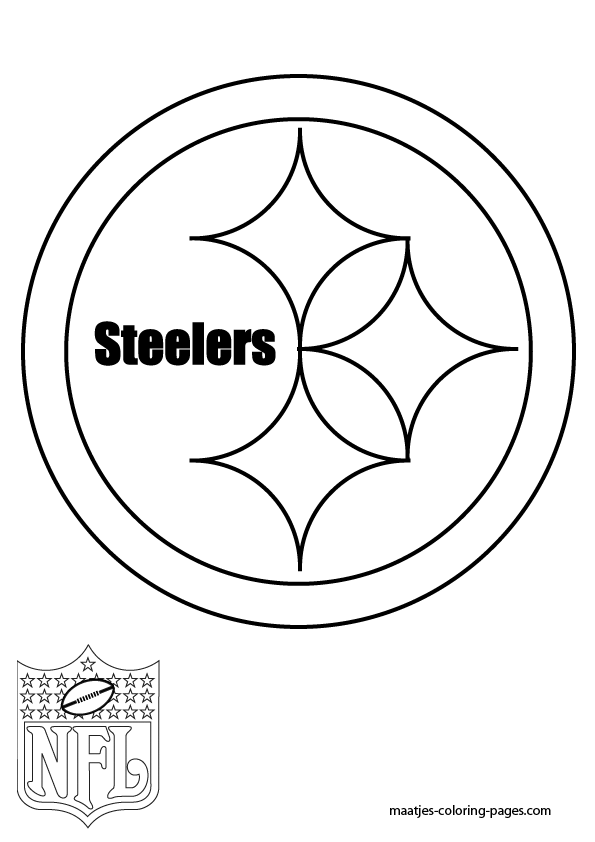 free printable steelers coloring pages - photo#1