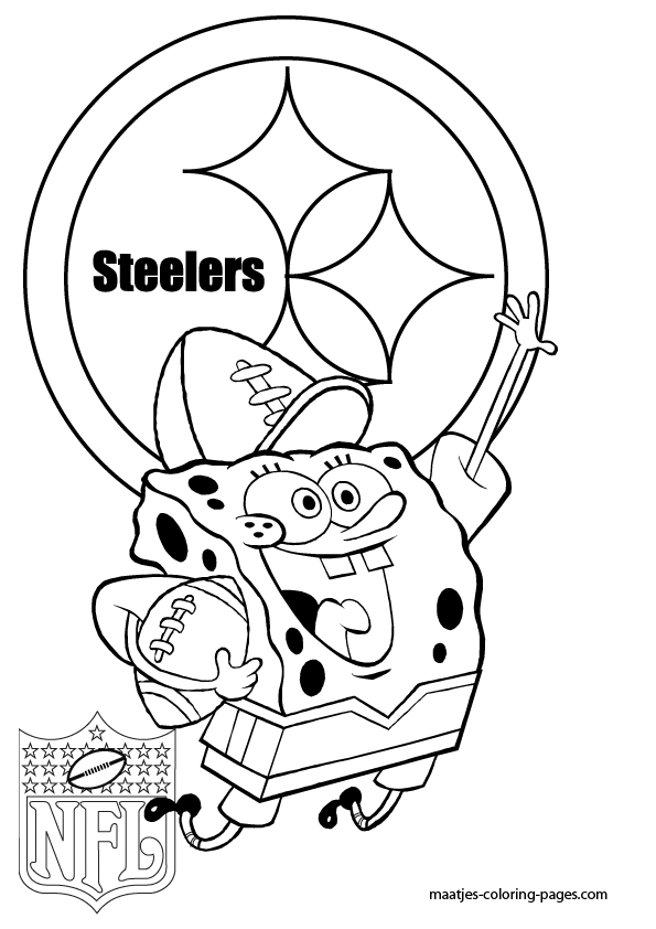 free printable steelers coloring pages - photo#8