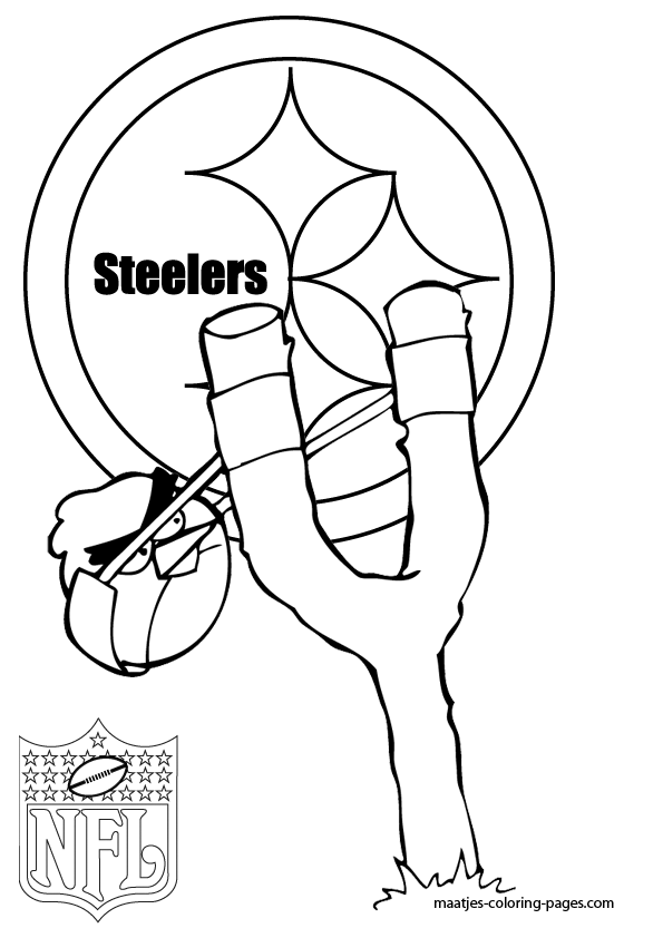free printable steelers coloring pages - photo#13