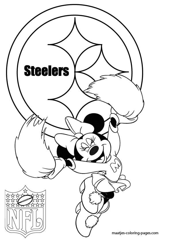 Pittsburgh Steelers NFL Coloring Pages