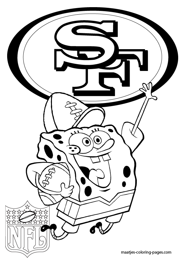 49ers logos coloring pages coloring pages for San francisco giants coloring pages