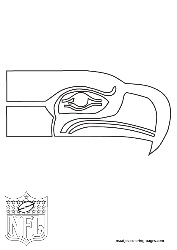 seattle seahawks helmet coloring pages - photo#14