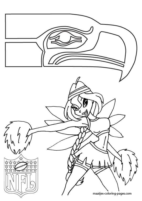 Seattle Seahawk Free Coloring Pages Seattle Seahawks Coloring Pages