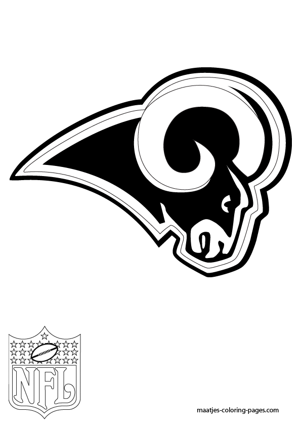 St Louis Rams Free Colouring Pages St Louis Rams Coloring Pages