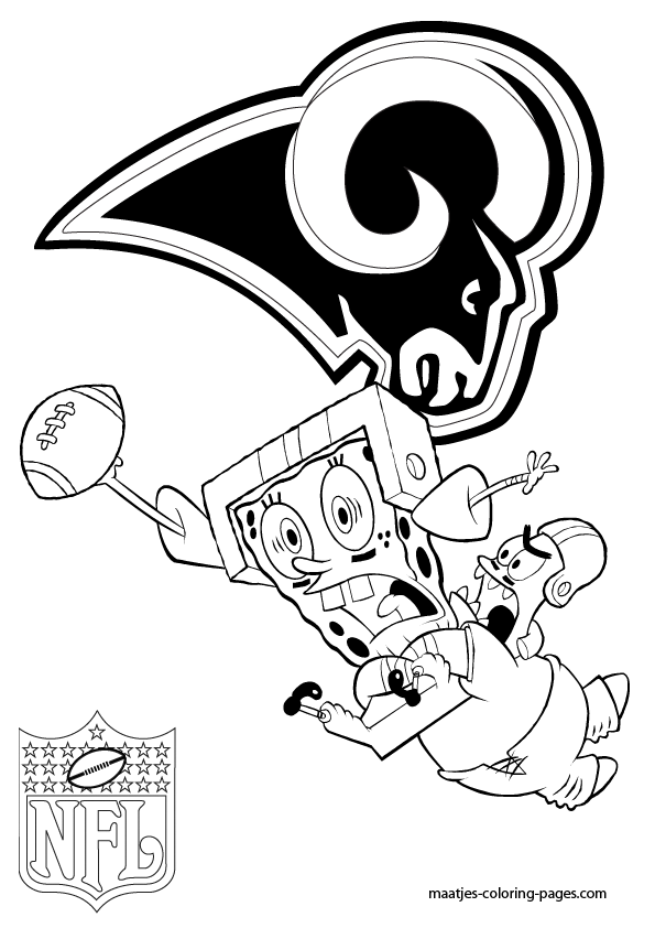 St Louis Rams Free Coloring Pages St Louis Rams Coloring Pages