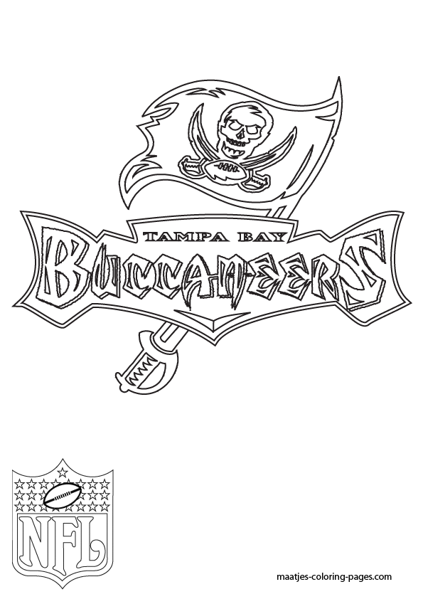 buccaneers helmet coloring pages - photo #18