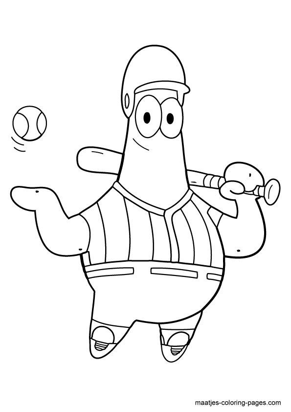 spongebob best friend coloring pages - photo#32